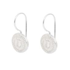 BAWBEE COIN DROP EARRINGS BBE02 - sterling silver