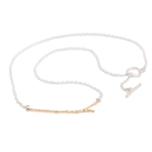 TWIG NECKLACE BNN01 - 18ct yellow gold vermeil 2