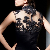 Stunning-Sheath-Short-Tulle-High-Neck-Black-Dresses-11512-1